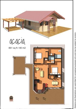 80 square meter house plan home land deal