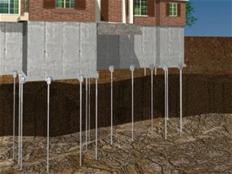 sinking foundation repair cost push piers sinking foundation repair