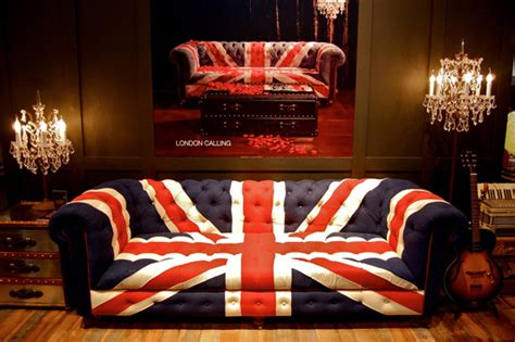 union jack couch mix and chic union jack inspired furniture and home