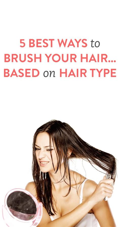 is there a better way to comb your hair with a receding hairline we heart it 5 best ways to brush your hair based on hair type