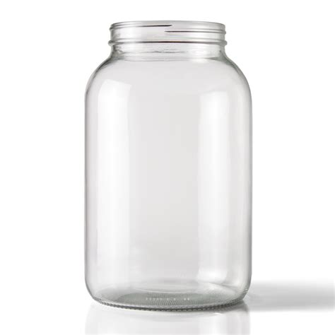 what is a jar 1 gallon clear glass jar 110 405 neck finish packaging options direct