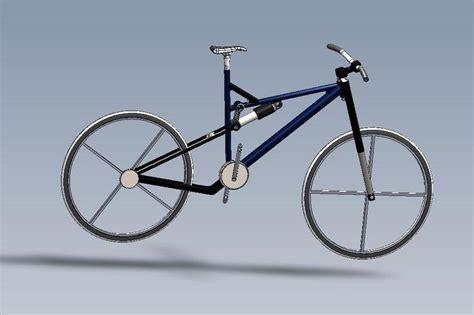 solidworks tutorial bike mountain bike assembly solidworks 3d cad model grabcad