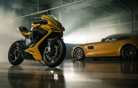 wallpaper car italy yellow bike superbike mv agusta