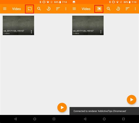 tutorial vlc android how to cast to chromecast from vlc android