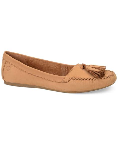 born shoes womens flats lyst born alawa flats in brown