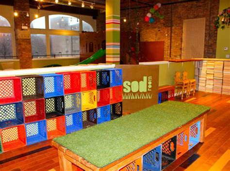 sod room the newly opened sod room is an eco conscious playroom for children in downtown chicago inhabitots