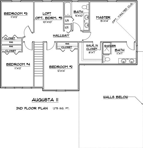 augusta floor plan augusta home plan 3 bedroom 2 bath new homes in howell mi