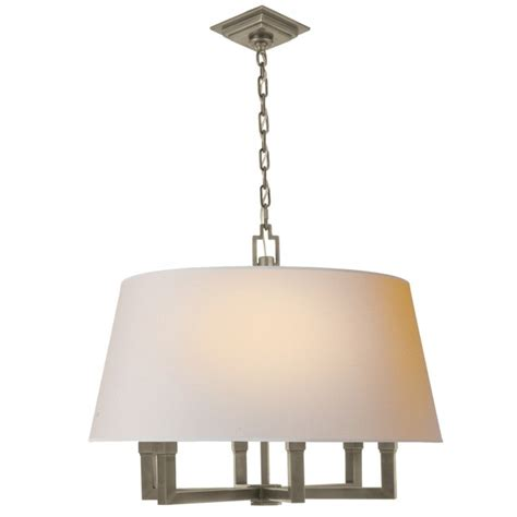 Square Chandelier Shades Gold Square Shade Chandelier