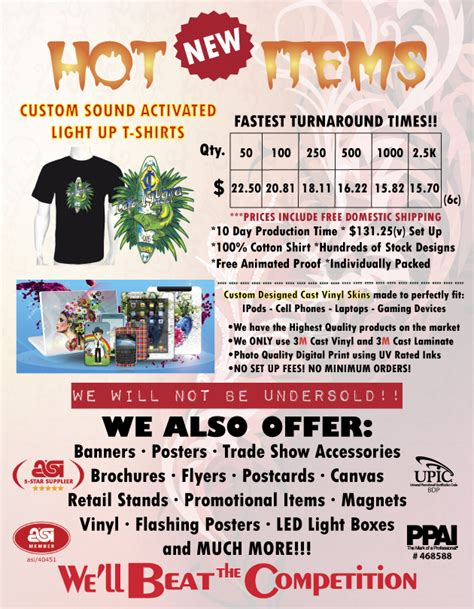custom light up shirts t shirt business flyer images