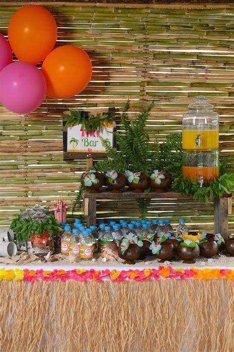 Kara S Ideas Hawaiian Luau Hawaiian Luau Themed Birthday