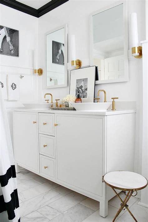 Kohler Purist Wall Sconce Kohler Purist Single Wall Sconce Vibrant Moderne Brushed Gold Transitional Bathroom Bathroom