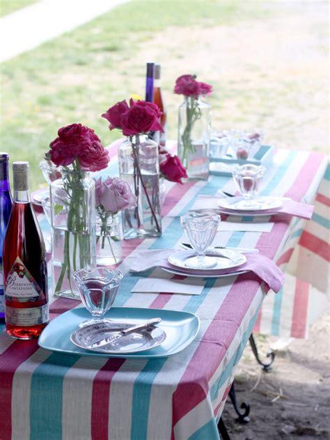 summer table settings 3 stylish summer table setting ideas hgtv