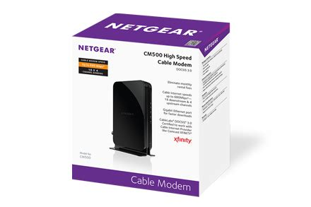 cm500 cable modems routers networking home netgear