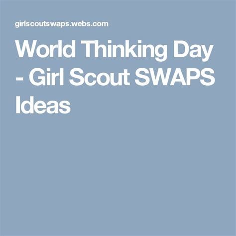 themes for girl scout day c world thinking day girl scout swaps ideas swaps