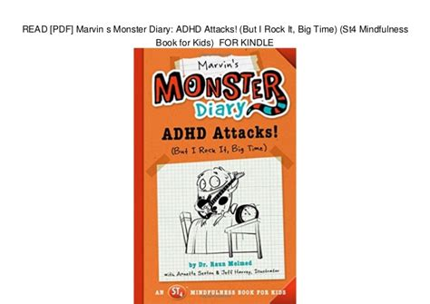 Pdf Marvins Diary Attacks Mindfulness by Read Pdf Marvin S Diary Adhd Attacks But I