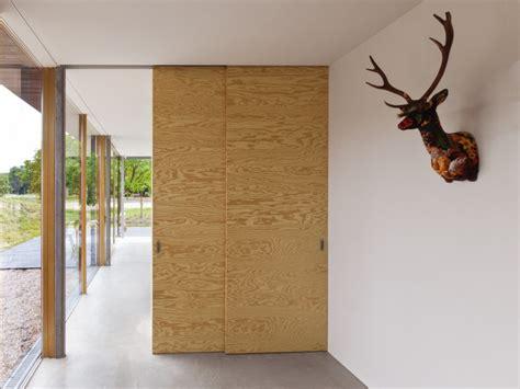 Barn Doors For Homes Interior porte coulissante en bois brut