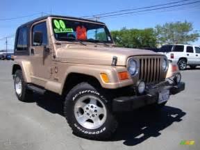2000 desert sand pearl jeep wrangler 4x4 69404335