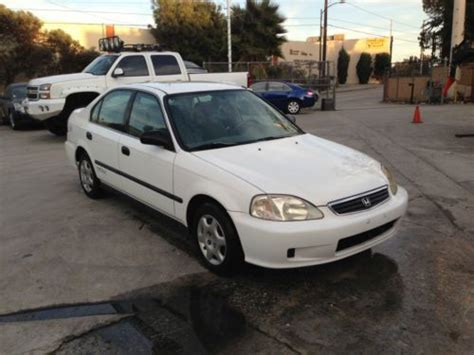 used honda civic cng for sale purchase used no reserve 1999 honda civic gx sedan 4