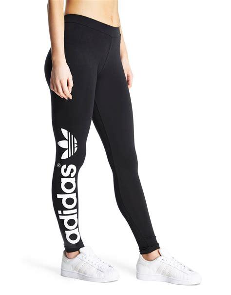 adidas legging adidas originals trefoil leggings jd sports