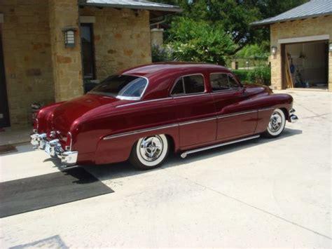 1951 mercury 4 door sedan custom classic for sale photos