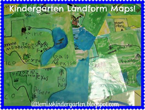 map of texas landforms miss kindergarten lessons from the schoolhouse what s been going on