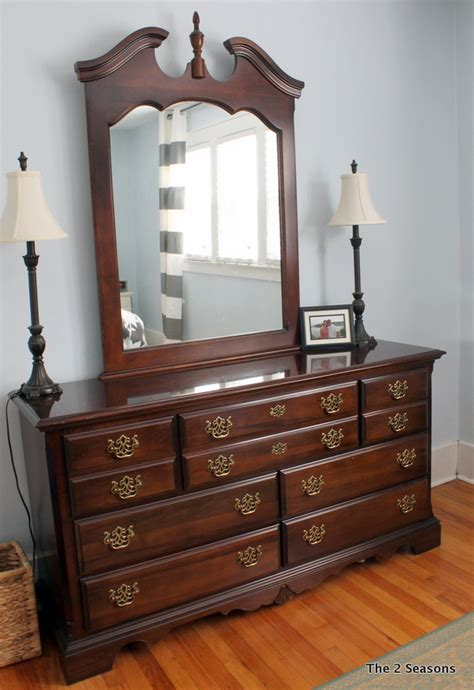 How To Update Bedroom Furniture Updating An Dresser Without Paint