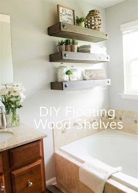 17 best ideas about floating shelves bathroom on pinterest 17 best images about hooks shelves on pinterest