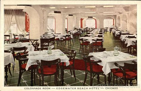 colonnade room colonnade room edgewater hotel chicago il