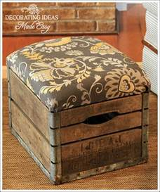 i love that junk old crate ottoman decorating ideas made easy