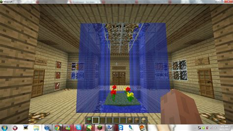 Minecraft House Living Room Minecraft My New Home Living Room By Mikamori On