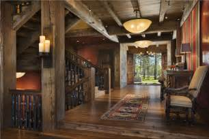 rustic entryway open country rustic foyer by jerry locati