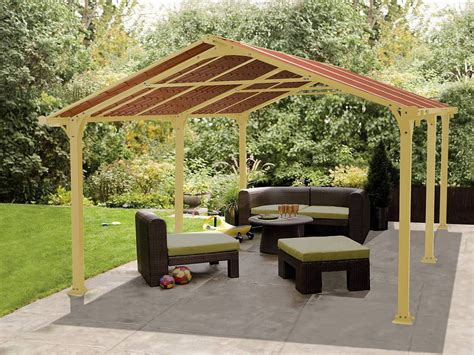 Patio Gazebo Plans Metal Roof Outdoor Metal Roof Gazebo