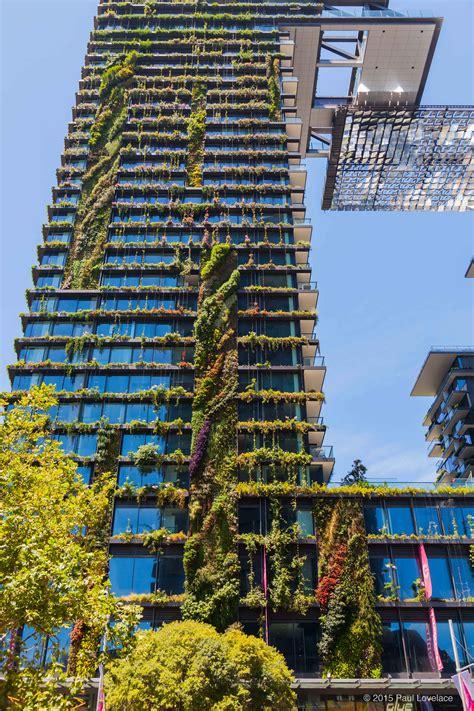 Sydney Vertical Garden Exploring The Heliostat Of Central Park Sydney