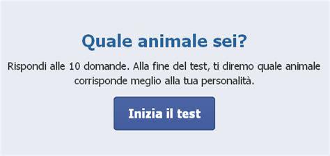 test animale sei test quale animale sei