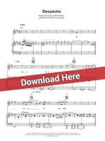 Chord Despacito Luis Fonsi Despacito Sheet Piano Notes Chords Ft