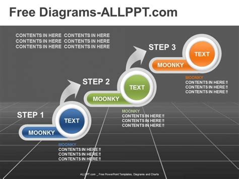 3 step diagram powerpoint template daily udates