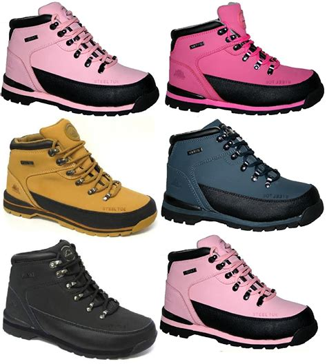 Safety Shoes Boots Cakep womens work groundwork safety trainers steel toe