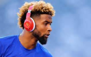 odell beckham jr haircut name draftkings perfect lineup week 6 biggest check with odell