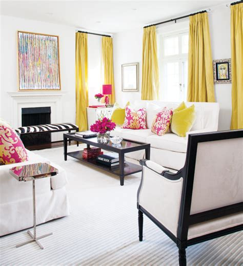 yellow curtains for living room you are my sunshine effortless style blog