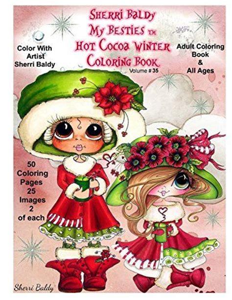 sherri baldy my besties magical winter coloring book books 17 beste afbeeldingen quot my besties quot design team