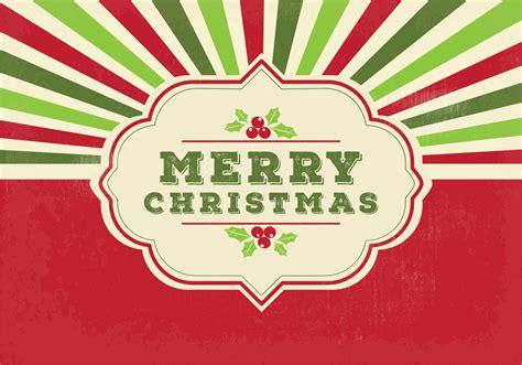 retro merry christmas illustration   vectors clipart graphics vector art