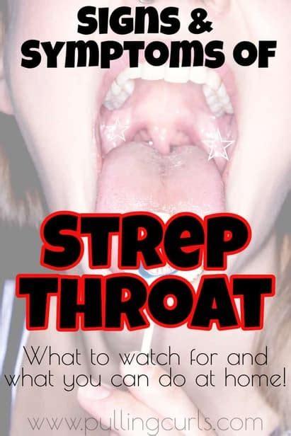 strep  sore throat symptoms treatment    find
