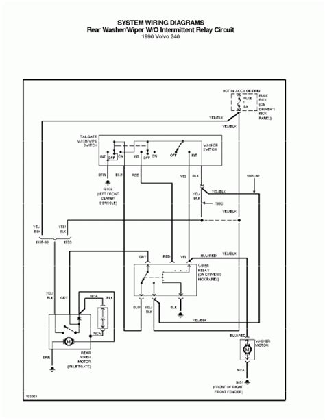 pdf ebook 1990 volvo 240 system wiring diagrams