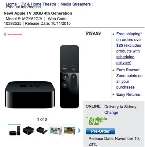 apple tv best buy best buy canada launches new apple tv pre orders iphone
