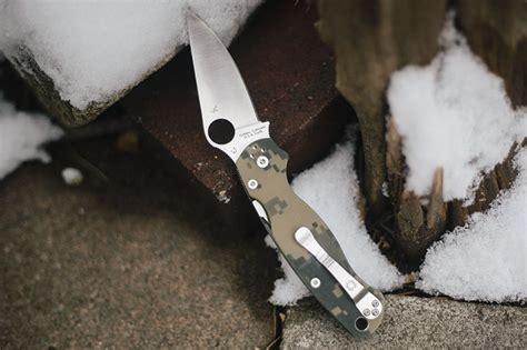 spyderco paramilitary 1 vs 2 spyderco paramilitary 2 edc folding knife review