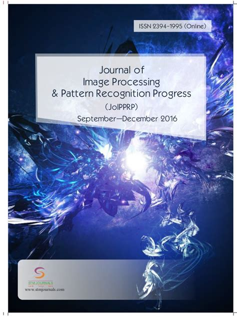 pattern recognition journal isi journal of image processing pattern recognition progress