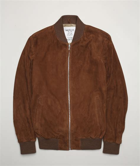 suede jacket norse store norse projects hak suede jacket
