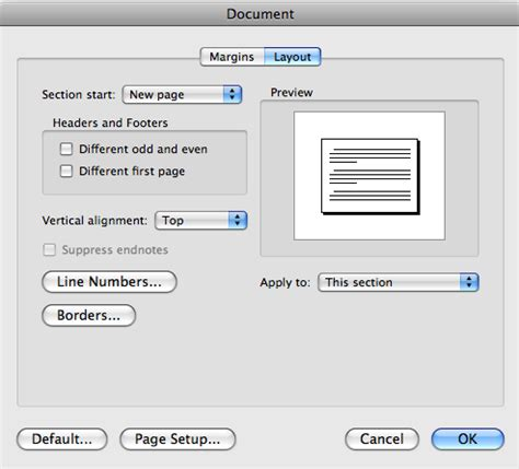 landscape layout on mac word techniques for managing theses using microsoft word 2011