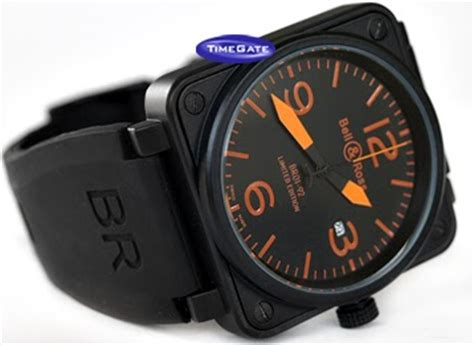 Jam Keren Sporty Bell Ross Leather Automatic 2 jom usha jam tangan lelaki