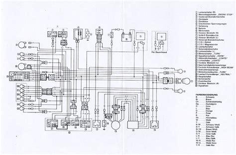 yamaha xt 250 wiring diagram free yamaha free